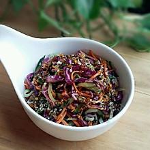 清爽小菜---凉拌紫甘蓝