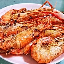 椒盐大头虾
