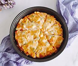 #冰箱剩余食材大改造#  馒头披萨的做法