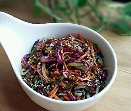 清爽小菜——凉拌紫甘蓝的做法