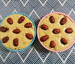 红枣红糖发糕的做法