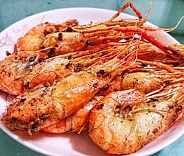 椒盐大头虾的做法
