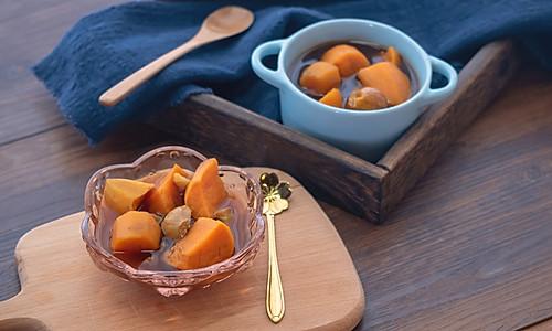 番薯栗子糖水【初味日记】的做法