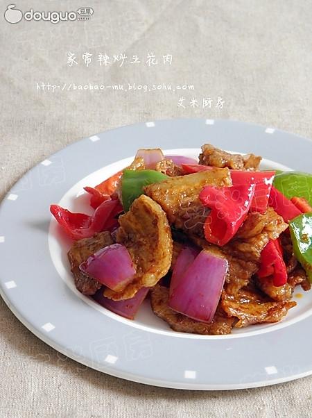 家常辣炒五花肉的做法