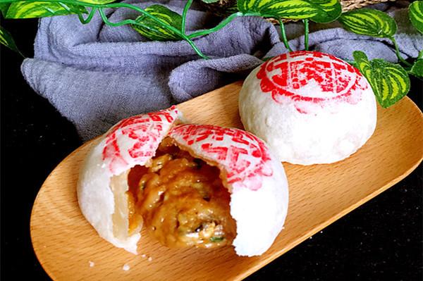 蟹粉鲜肉月饼#京蟹世家#的做法