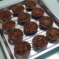 爆浆花生巧克力绵绵蛋糕的做法图解7