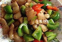 彩椒炒五花肉的做法