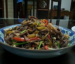 榨菜炒鸭肾丝的做法