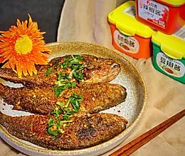 #一勺葱伴侣,成就招牌美味#酱子烤鱼的做法