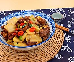 酸菜炒肥肠的做法