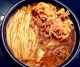 【零基础】【韩式】辣白菜肥牛汤的做法