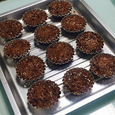爆浆花生巧克力绵绵蛋糕的做法 步骤7