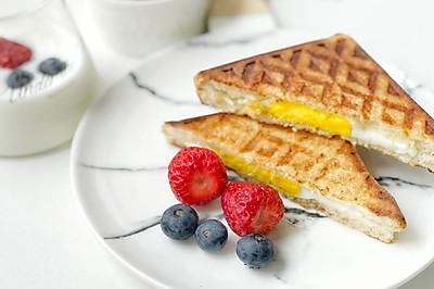 5分钟快手营养早餐三明治
