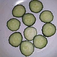 随手黄瓜蛋饼(减脂菜单)的做法图解4