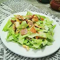 培根卷心菜沙拉#春天里的一抹绿#
