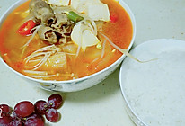 韩式泡菜肥牛汤的做法