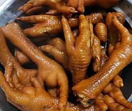 卤水鸡爪鸭爪的做法