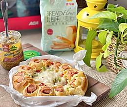 #爱好组-高筋#决胜必胜客口感的至尊披萨的做法