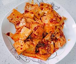 最下饭最简易版红油豆腐的做法