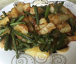 豇豆(长豆角)土豆条的做法