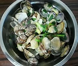 营养膳食清煮蛤的做法
