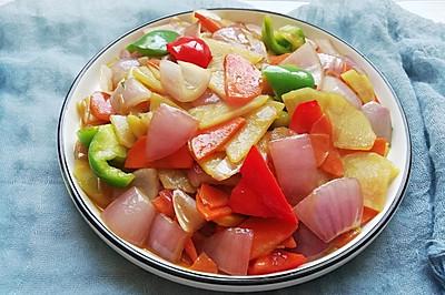 家庭版洋葱土豆片❗️超级美味