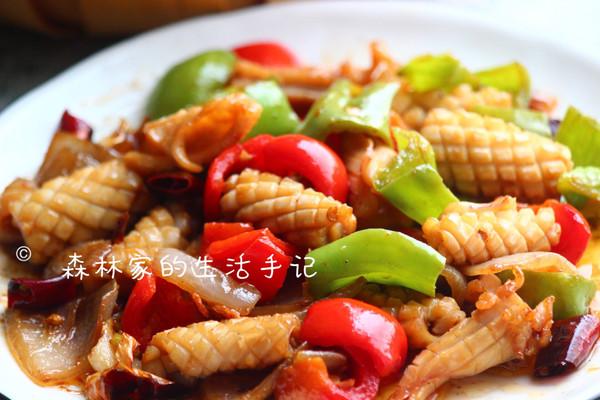 小白必备‼️超好吃的【香辣鱿鱼卷】的做法