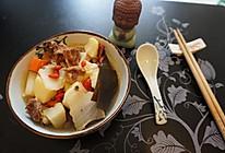 白菜海带炖排骨(可加土豆胡萝卜)的做法