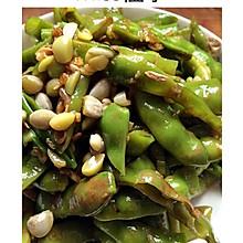 美味凉拌菜,青扁豆,芸豆