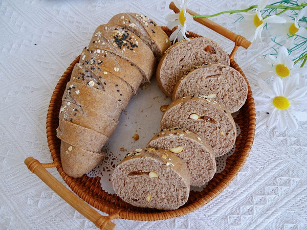 无油无糖全麦面包