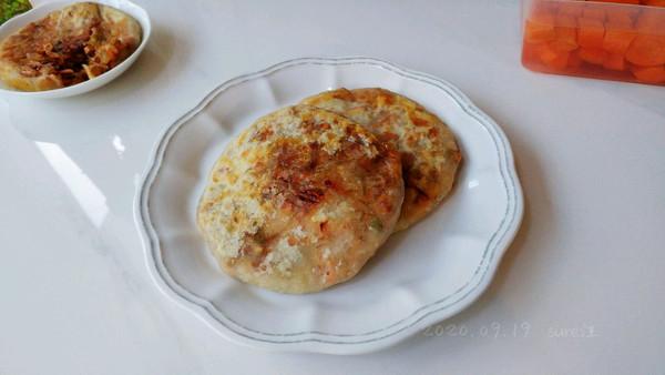 油泼辣酱豆腐饼的做法