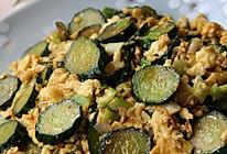 酱香黄瓜炒鸡蛋的做法