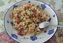 #百吉福创意芝士早餐#芝士蛋炒饭的做法