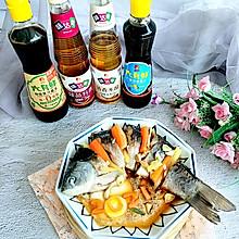 #福气年夜菜#2021蒸蒸日上:福气清蒸鱼