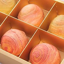 这盒会散发魅力的梦幻蛋黄酥,想带你尝尝星空的味道!