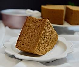 8寸可可味戚风蛋糕的做法