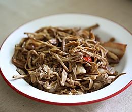 笋丝炒肉的做法