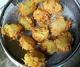油炸土豆丝的做法