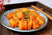 #入秋滋补正当时#开胃下饭的茄汁脆皮豆腐的做法