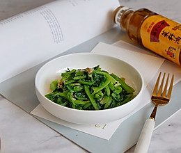 腐乳油麦菜#金龙鱼外婆乡小榨菜籽油 外婆的时光机#的做法