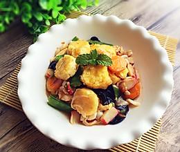 三鲜日本豆腐#德国miji爱心菜#的做法