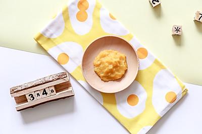 辅食日志 | 红薯泥米糊