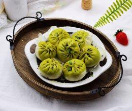 #《风味人间》美食复刻大挑战#翡翠白玉生煎包的做法