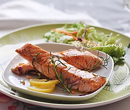 迷迭香煎三文鱼#宜家让家更有味#的做法