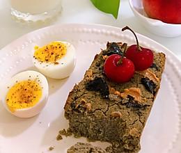 黑芝麻鹰嘴豆蛋糕|健康烘焙的做法