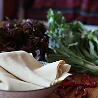 香椿拌豆皮---最有味道的凉菜的做法图解3