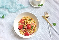 小番茄培根意大利面(通心粉)的做法