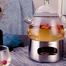 秋季美容院:红枣枸杞玫瑰茶 居元素