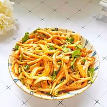 #今天吃什么#一年四季都可以吃的比肉还好吃的凉拌杏鲍菇
