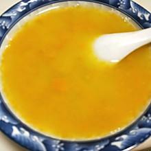 南瓜玉米糁汤